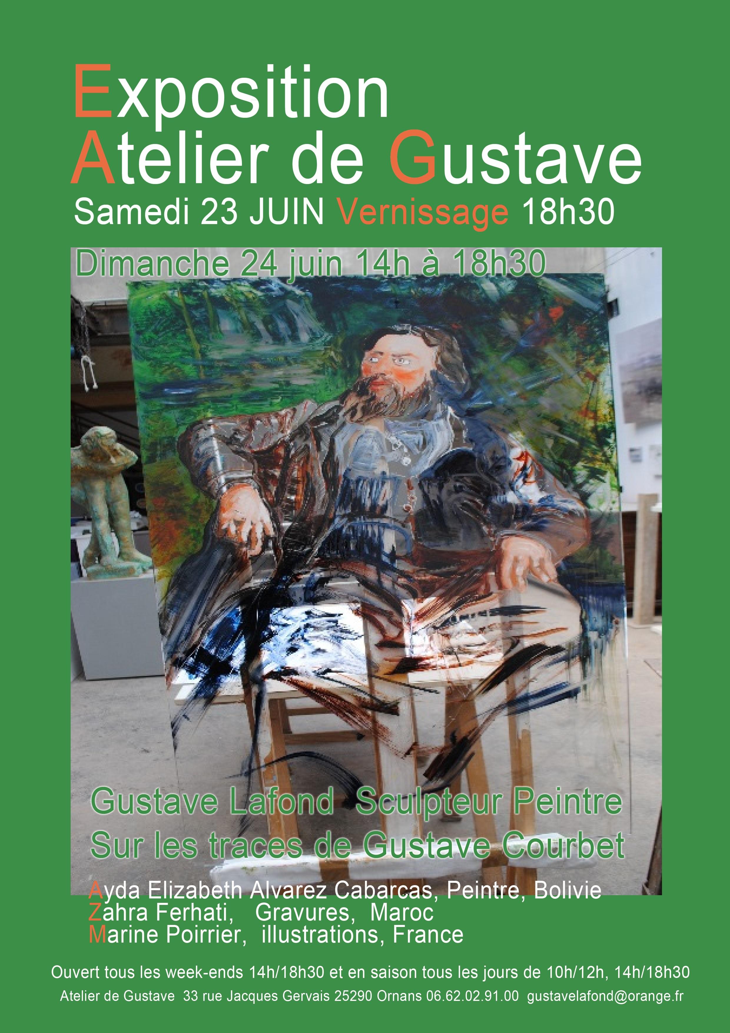 Exposition 3ème  RENCONTRE 2018 atelier de Gustave